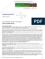 TETRASODIUM EDTA - National Library of Medicine HSDB Database