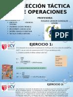 Dirección Táctica de Operaciones III