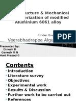 Microstructure & Mechanical Characterization of Modified Aluminium 6061