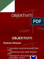 Nota 5 Objektiviti