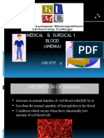Presentation Ms 1 (Group 2) ANEMIA