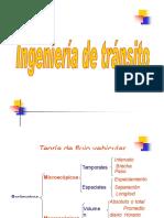 Volumen,Velocidad, Capacidad y Nivel de Servicio