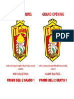 Grand Opening Thailand Cupcorn