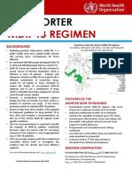 Emailing Short MDR Regimen Factsheet