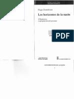 Zemelman Hugo - Los Horizontes De La Razon Vol I.pdf