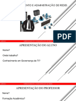 Apresentação - Gerenciamento e Administração de Redes