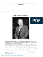 John Gullick 19162012