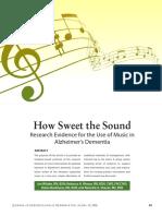 Music With Alzheimer's