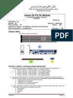 Efm Installation Dun Poste Informatique Tri Variante 1