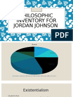 philosophic inventory for jordan johnson