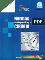 Normas de Diagnostico y Tratamiento en Cirugia