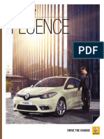Catalogo Renault Fluence