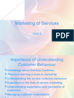 Marketing of Services1