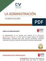 La Administracion Planificacion