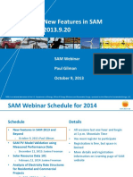 Sam Webinars 2014 New Features