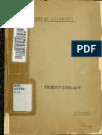 Study of Literatur 00 Alex u of t