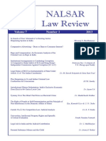 Nalsar Law Review 2013