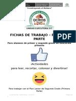 Fichas de Trabajo - 2° grado - UGEL Ocros - Parte 1