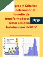 2017 Inst.ii UNIDAD 1.4 Cálculo de Casas Por Transformador
