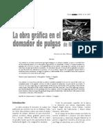 La obra grafica en el domador de pulgas de max jimenez