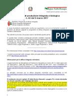 Bollettino Regionale n. 02 Del 9 Marzo 2017