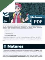 Guia Pokémon Natures, Ivs e Evs Para Iniciantes