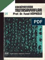 Fuad Köprülü - Türk Edebiyatinda İlk Mutasavvıflar