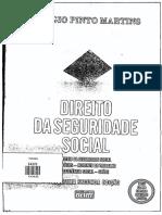 Texto - Direito Da Seguridade Social. Princípios. MARTINS, Sérgio Pinto. Direito Da Seguridade Social. Atlas, 2012 - Pág. 46 a 62