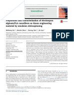 Preparation and Characterization of Electrospun PLA-ARGINATO
