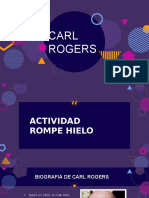 Power Point sobre la Teoria Humanista de Carl Rogers.