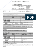 student profile  support plan form