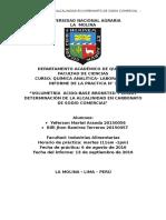 química analítica informe 4