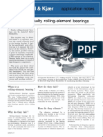 Detecting Faulty Rolling-element Bearings