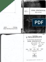 054- Genel Dokumculuk Bilgisi