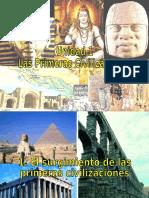 PPT Las Primeras Civilizaciones