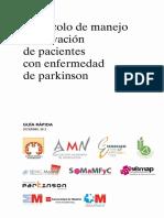 Guia Rapida Parkinson Madrid