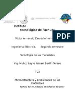Microestructura y Propiedades de Los Materiales