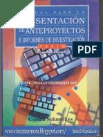 Manual Para La Presentación de Anteproyectos e Informes de Investigación (Tesis)