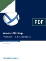 AcronisBackupLS 11.5 Installguide en-US