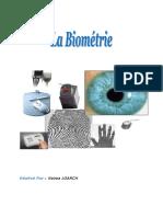 Initiation Sur La Biométrie
