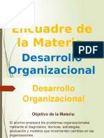 1. Introducción General Al Desarrollo Organizacional