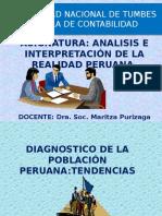 Diagnóstico de La Población Peruana