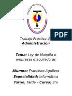 Trabajo Práctico de Administración