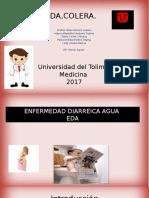 Exposicion de Salud Publica Enfermedad Diarreica Aguda y Colera