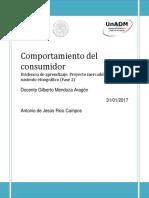 U1 Actividad 3Evidencia de Aprendizaje. Proyecto Mercadológico Con Un Sustento Etnográfico (Fase 2)