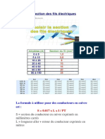 Section Des Fils