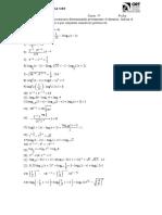 Ecuaciones Logaritmcia y Exponenciales 2012