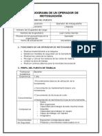 Campaña J_ Paralelo 41. Profesiograma