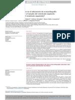 Relación Presión Volumen en El Laboratorio de Ecocardiografía de Estrés Cómo Influye El Tamaño Del Ventrículo Izquierdo Dimensión Diastólica Del Ventrículo Izqui
