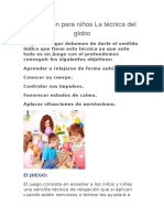 Relajación Para Niños La Técnica Del Globo (1)